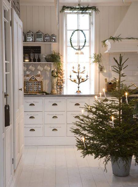 rincones decorados de Navidad