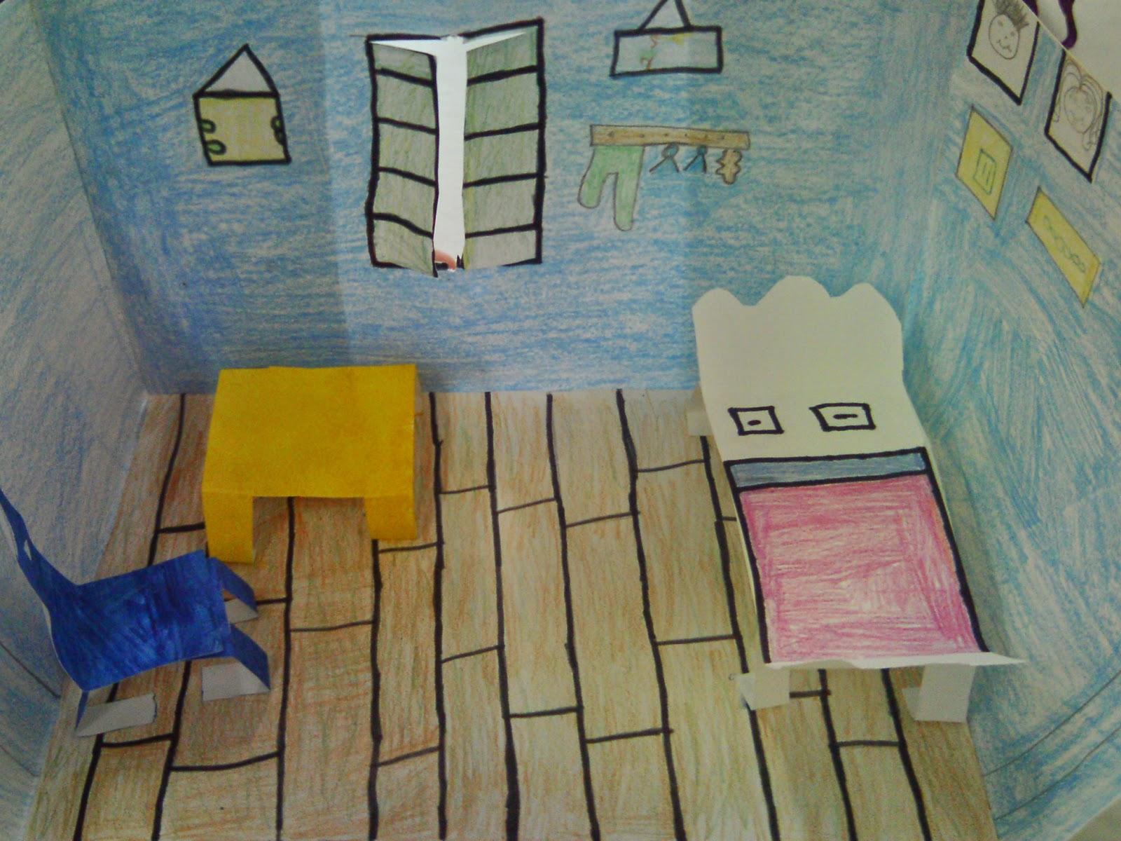 Arte Propositor: O quarto de Van Gogh em Arles: maquete