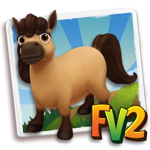 Amazing Farmville Horse #5: Mini Buckskin Horse