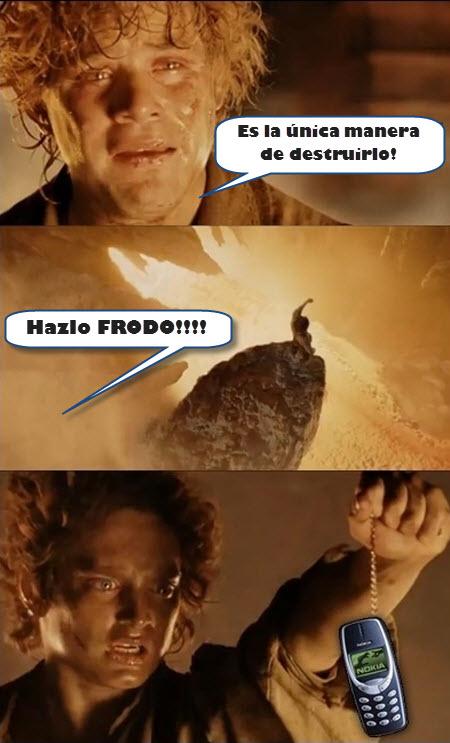 Nokia 1100 Vs. Frodo