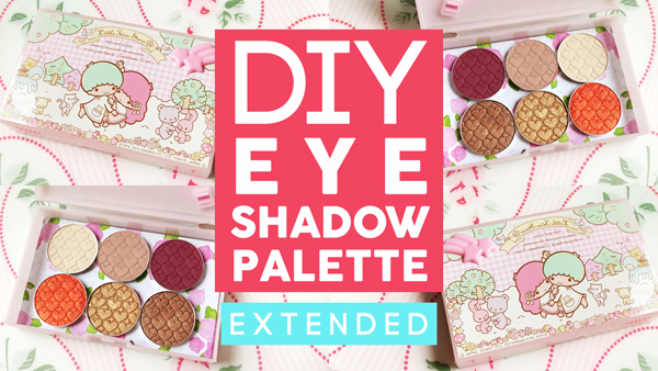 Z Palette Inspired DIY Eyeshadow Palette