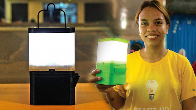 Filipino invented a Lamp that runs in Salt and Water. Amazing!