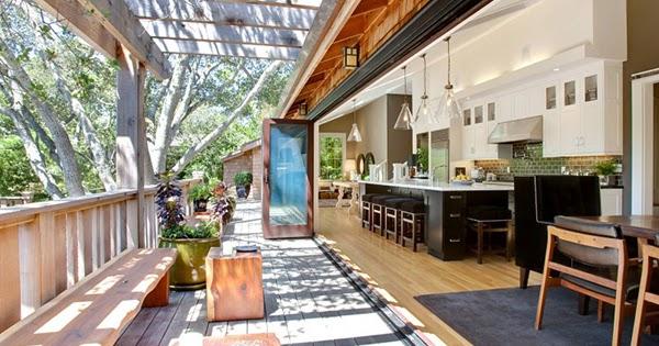 Die wohngalerie freiluft k che perfekter durchdacht - Bodentiefe schiebefenster ...