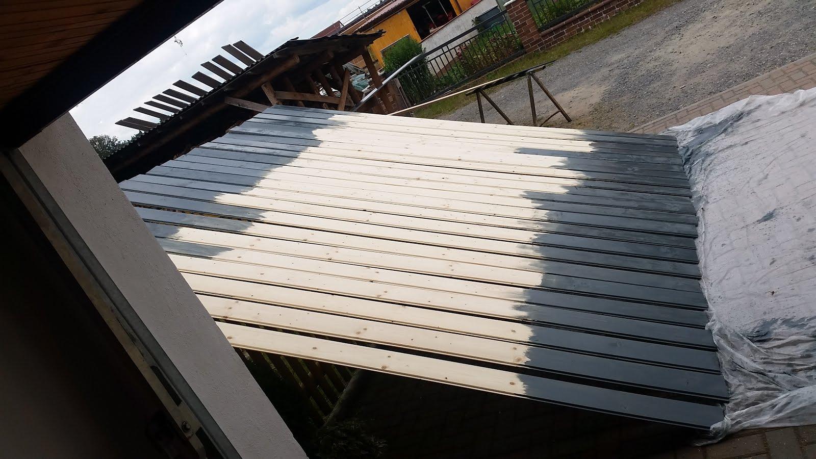 dach berstand streichen projekt hausbau in schmidgaden. Black Bedroom Furniture Sets. Home Design Ideas