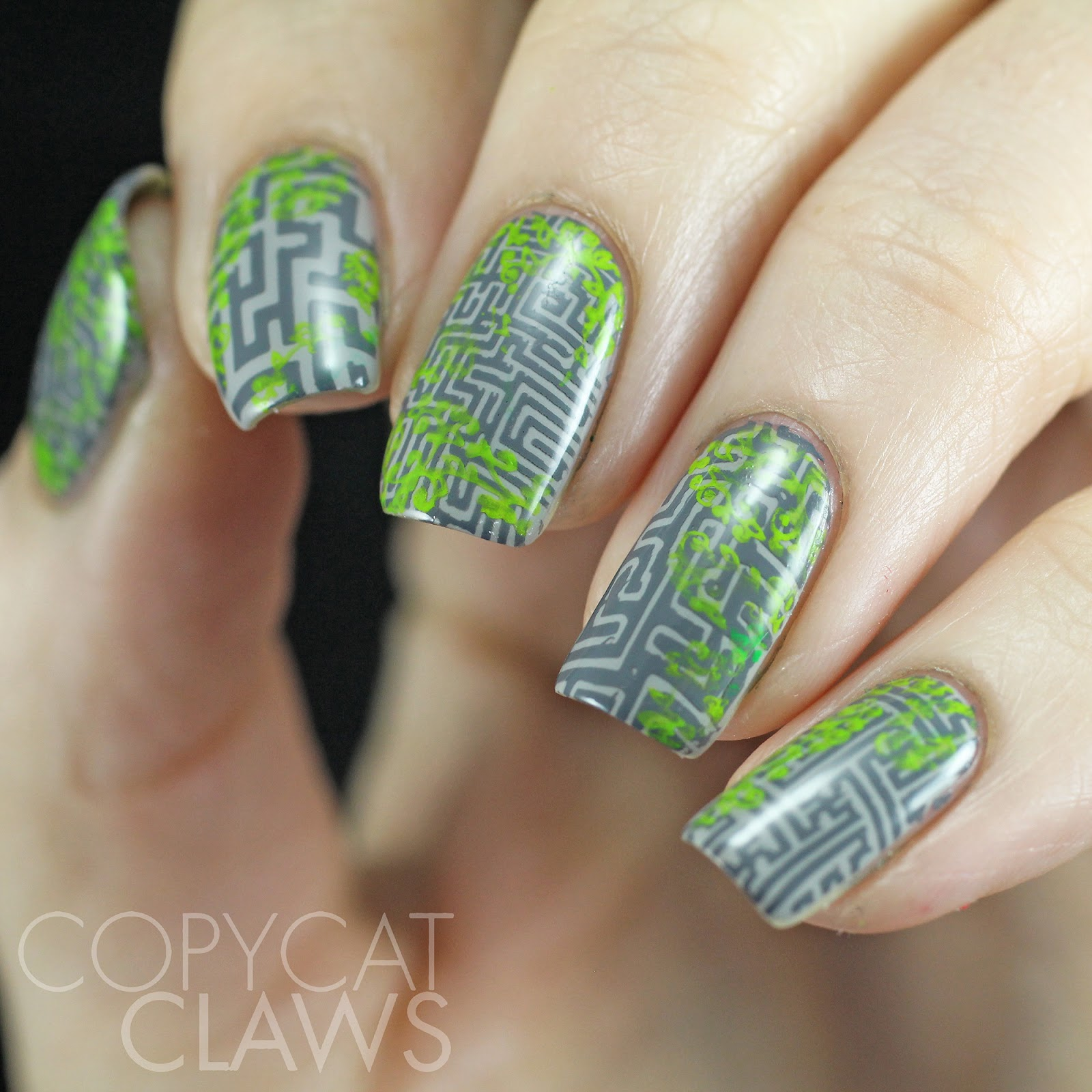 Copycat Claws The Maze Runner Inspired Nail Art