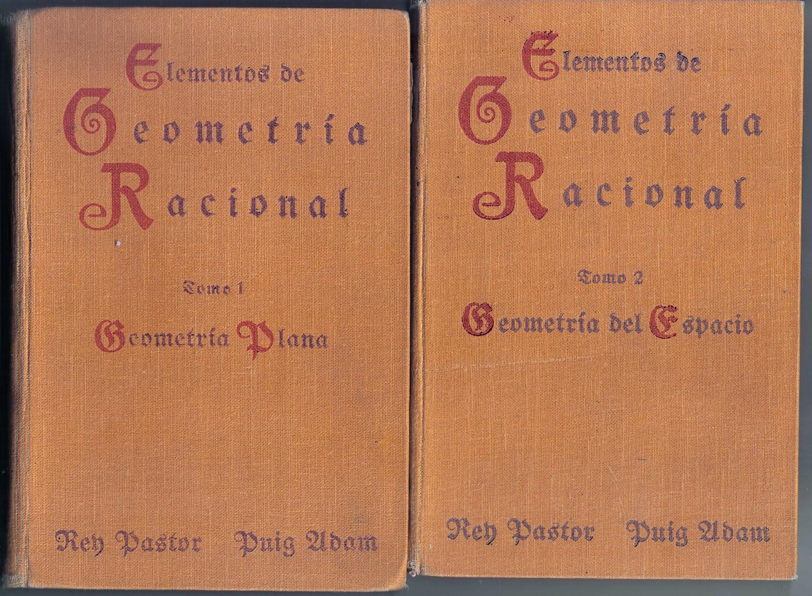Aprender y enseñar Matemáticas: La geometría del bachillerato (1934 ...