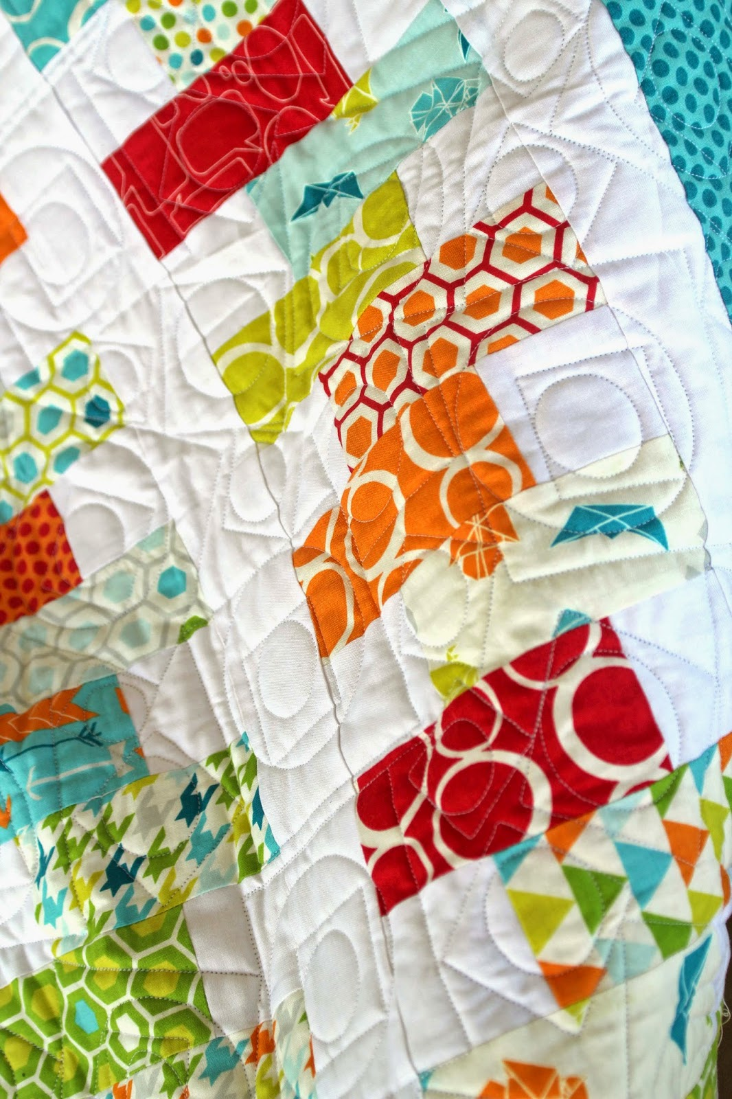 charm pack quilt for a baby boy