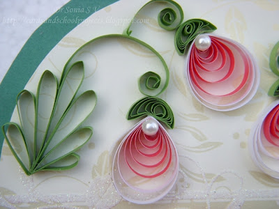 Handmade Craft Ideas Paper Quilling on Card Tutorial     Quilled Flora   Crafts Ideas   Crafts For Kids