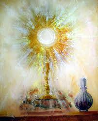 Visita a Jesús Eucaristía Santisimo Sacramento en linea