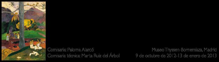 """Making-of de la exposición """"Gauguin y el viaje a lo exótico"""""""
