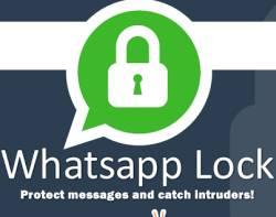 blocco e protezione per i messaggi whatsapp