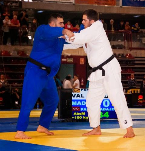 Final del Campeonato de España de Judo Parra - Rodríguez.