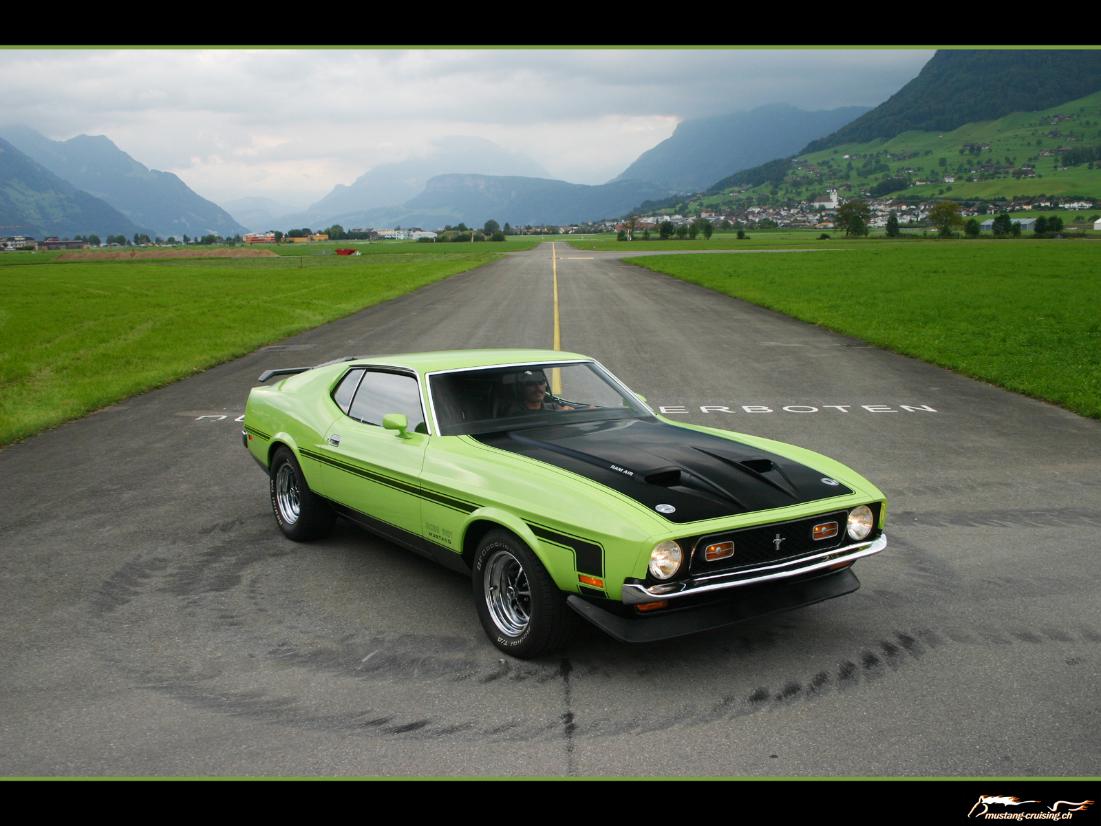 1972 Mustangs  Sprint  Grande  Mach1   Mustang Wallpapers