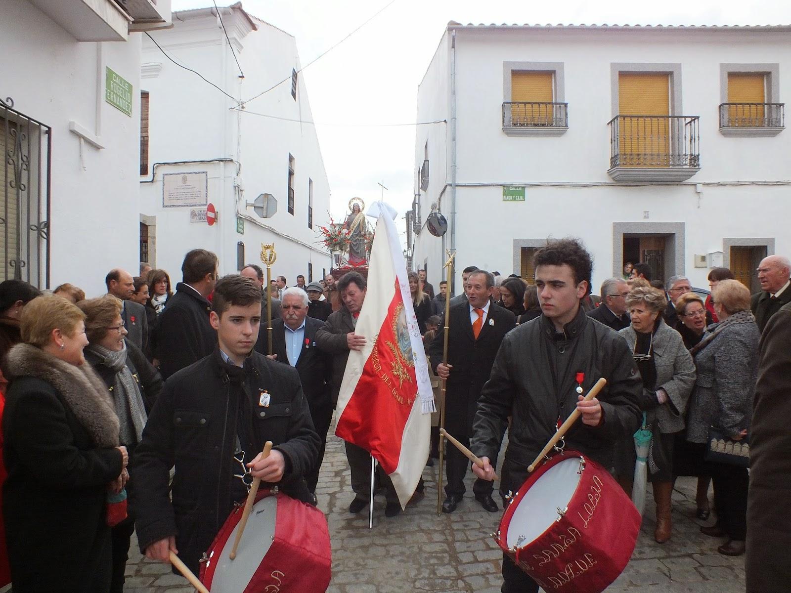 Parroquia san mateo santa lucia 2014 en villanueva del duque for Villanueva del duque