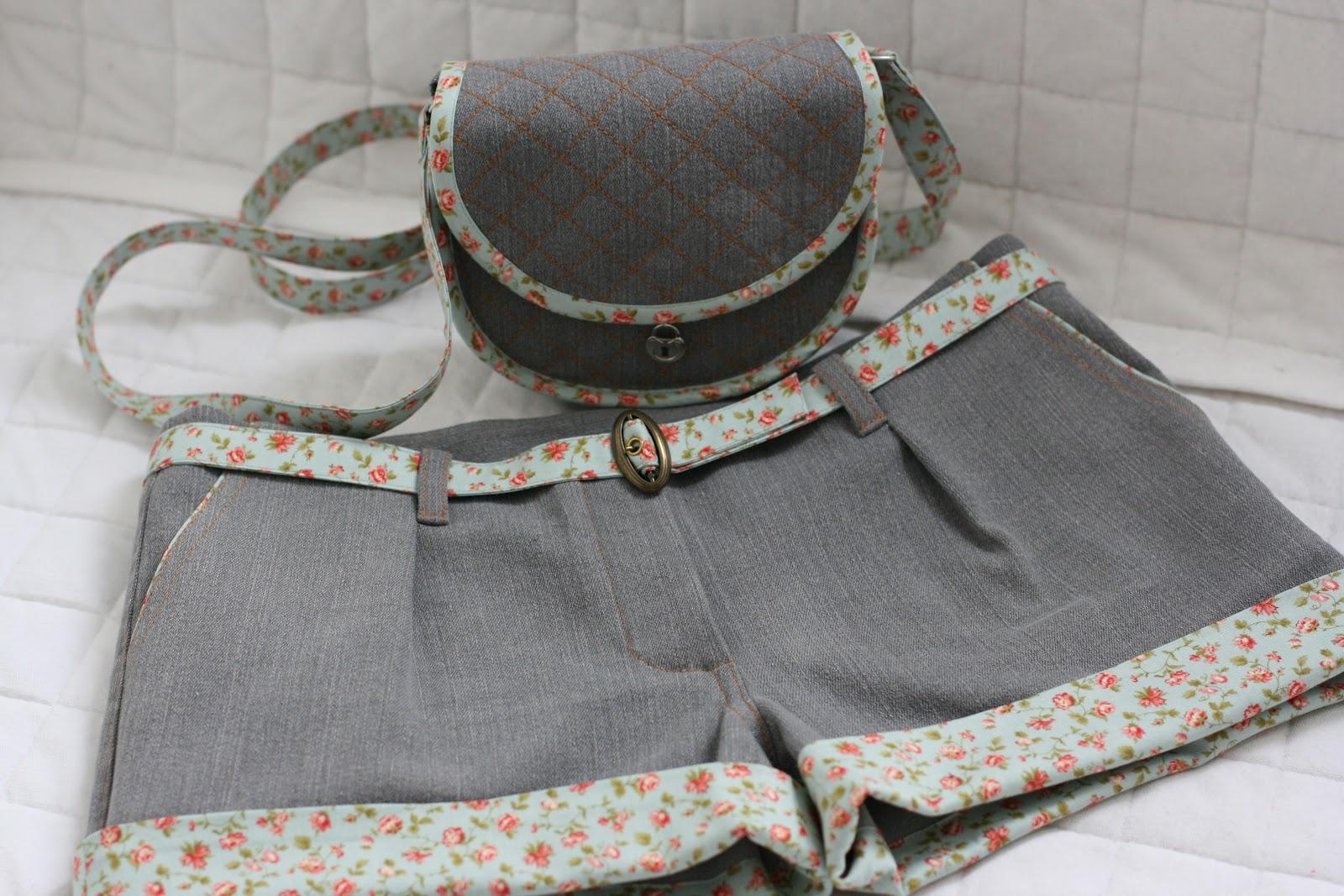 Как сшить шорты с накладными карманами XL Мастер-классы 4