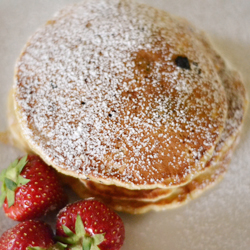 how to make pancakes from scratch with vanilla extract