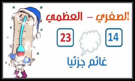 الارصاد الجوية  «أخبار الطقس» فى مصر اليوم الجمعة 20-11-2015 ، درجات الحرارة وحالة الجو يوم غدا الجمعة 20 نوفمبر 2015