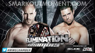Watch WWE Elimination Chamber 2013 US Title Match Online Free