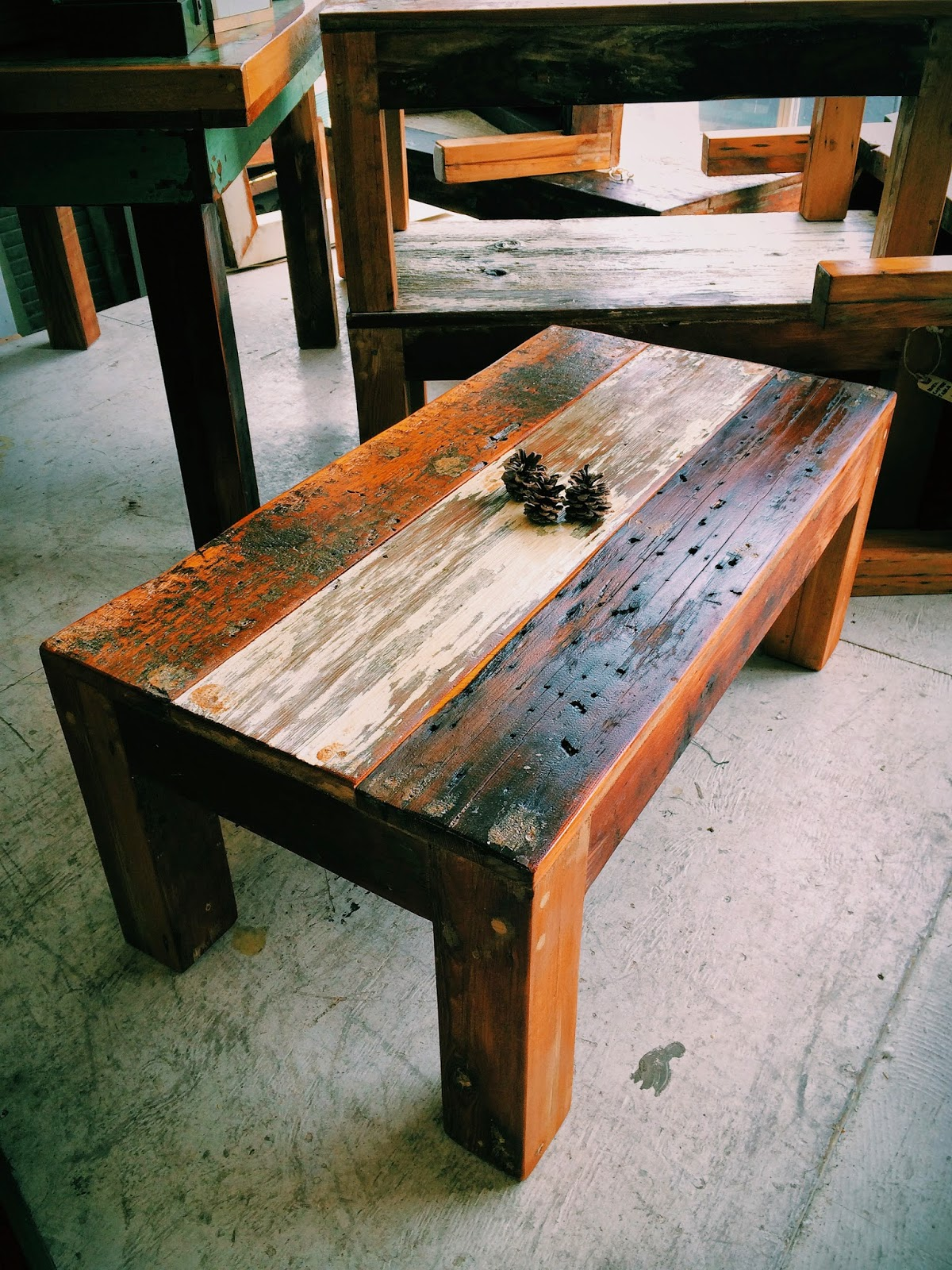 Forever Interiors New Reclaimed Rustic Coffee Tables And Wine Racks