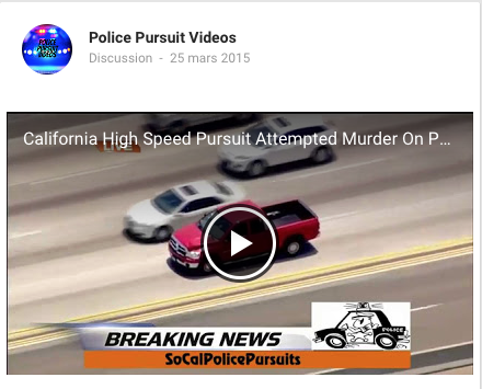 police pursuit videos