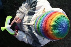rainbow hat