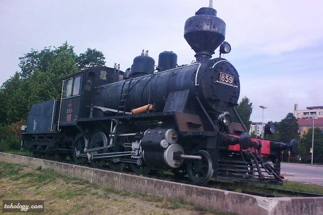 Old train in Kouvola