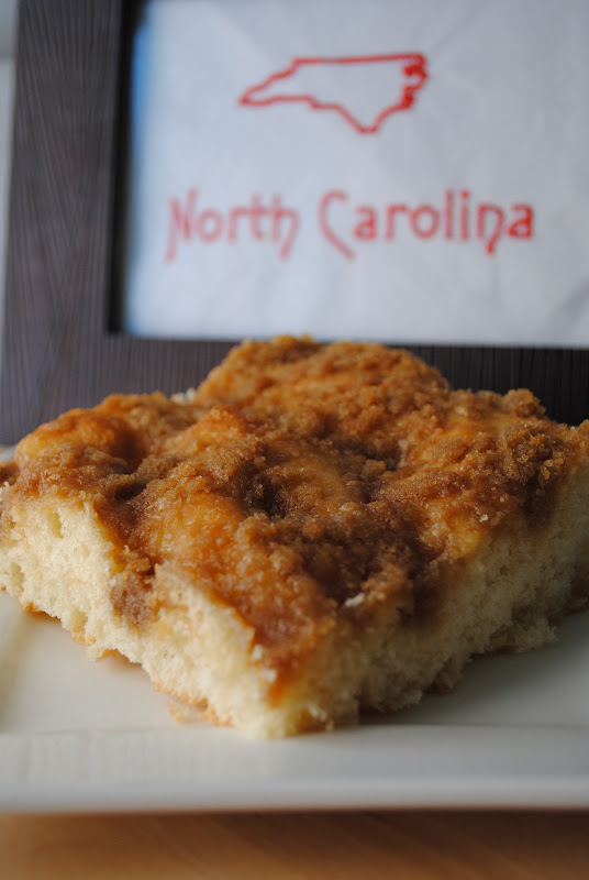 Sweet State of Mine: North Carolina - Moravian Sugar Cake