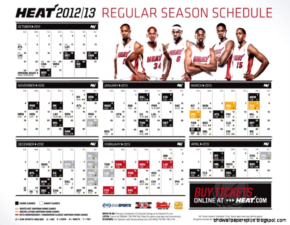 miami heat schedule  The World Champion Dont Hate Miami   Your