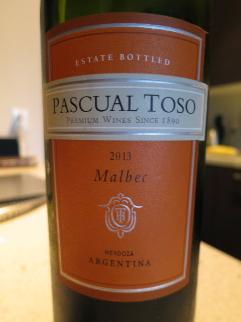 Wine Review of 2013 Pascual Toso Malbec from Mendoza, Argentina