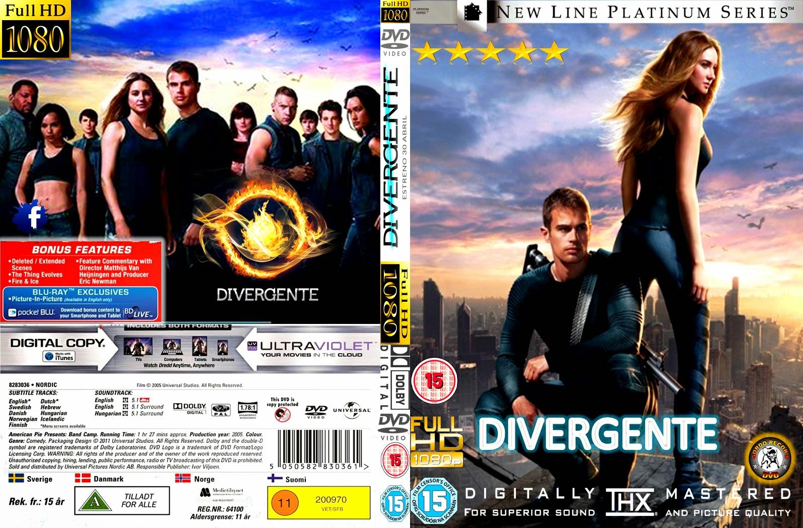 Divergente DVD