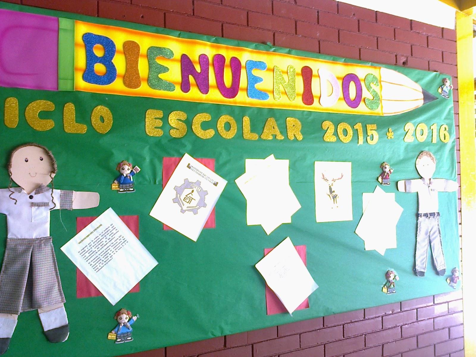 E pportafolio de evidencias bienvenida periodico mural for Diario mural escolar