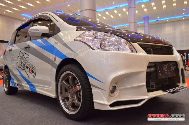 Foto Modifikasi Mobil Suzuki Ertiga Keren Terbaru 2014