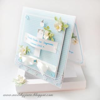karki okolicznościowe, kartka na chrzest, kartka z okazji chrztu świętego, dla chłopca, hand made, ręcznie robione