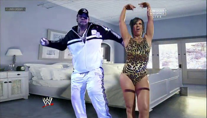 Brodus Clay and Vickie Guerrero