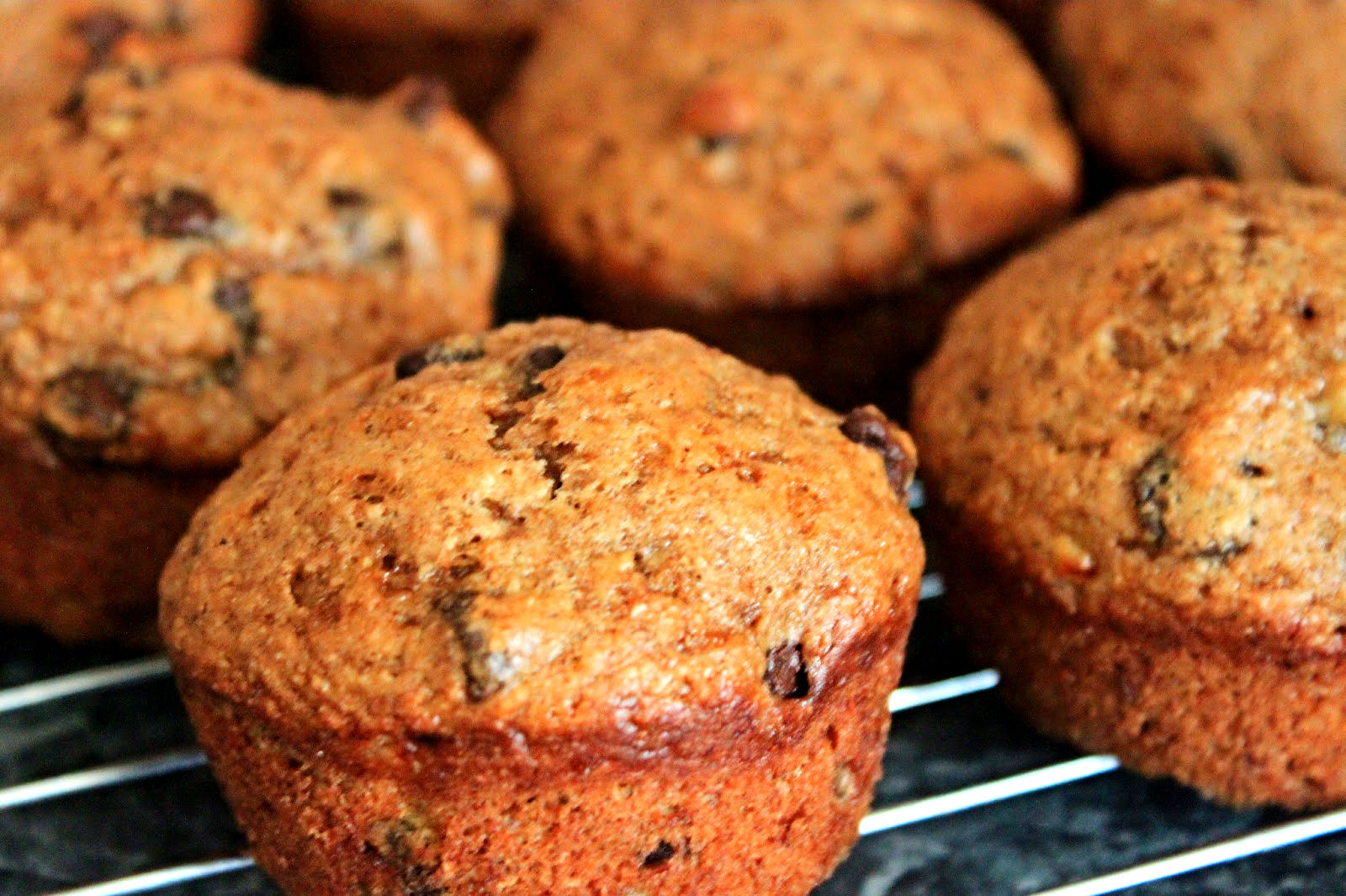Hear Exercise Will Kill You: Super Moist Whole Wheat Banana Muffins