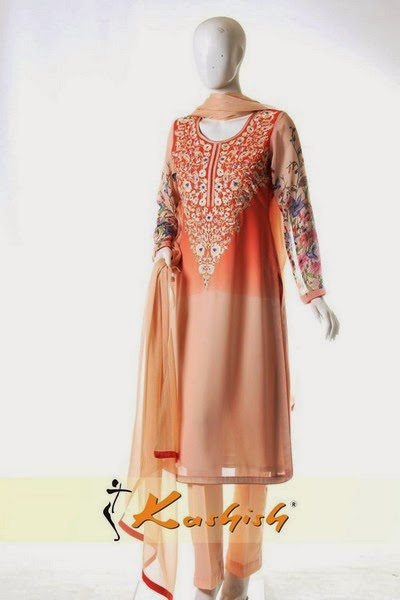 Kashish Winter-Fall Dress Collection 2014-2015