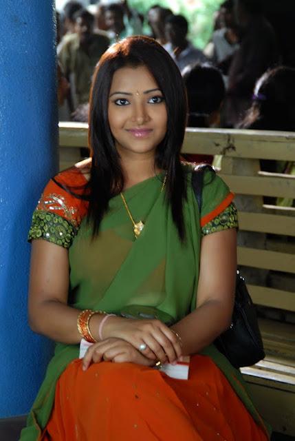 swetha basu half saree photos