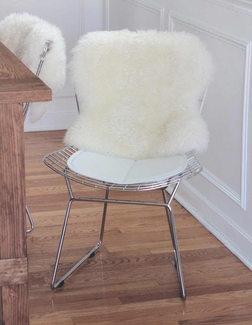 Bertoia chair sheepskin - Perfect