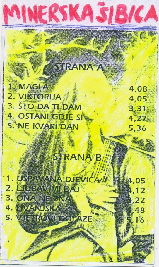 Minerska Sibica(Bosnia) - Zatisje Pred Oluju 1994 Hard Rock