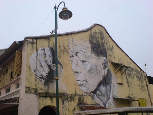 Penang Private Tour Guide Penang Wall Painting