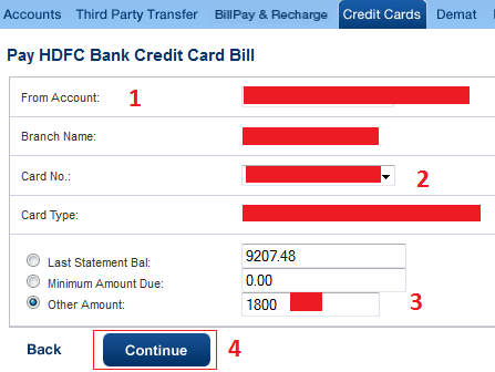 Hdfc forex card online payment