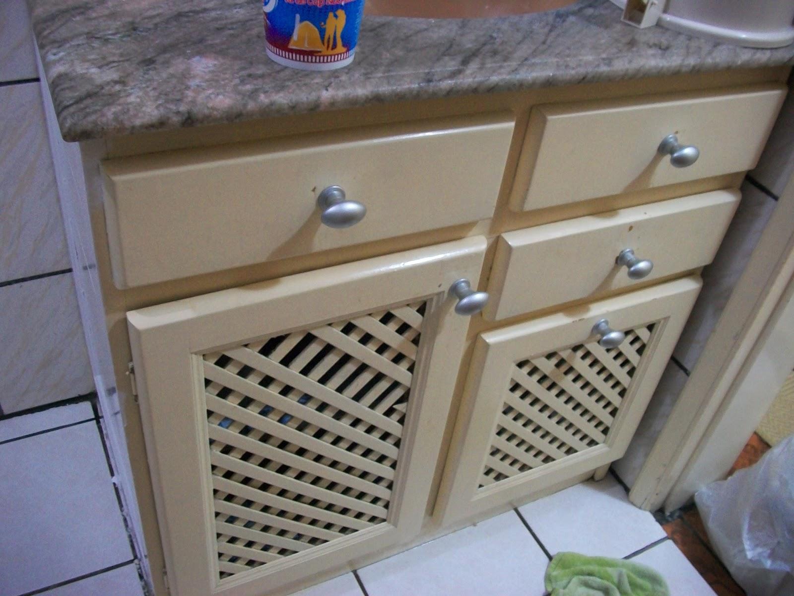 Reciclar, reformar e decorar Armário de banheiro -> Como Reformar Armario De Banheiro De Mdf