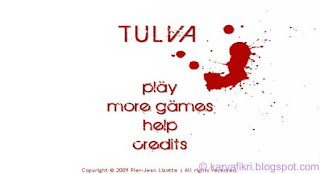 menu tulva - typing game