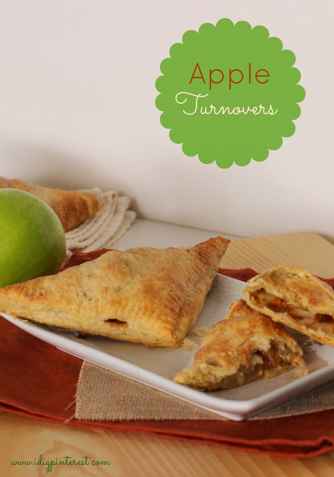 Dig Pinterest: Puff Pastry Apple Turnovers: November Mystery Dish ...