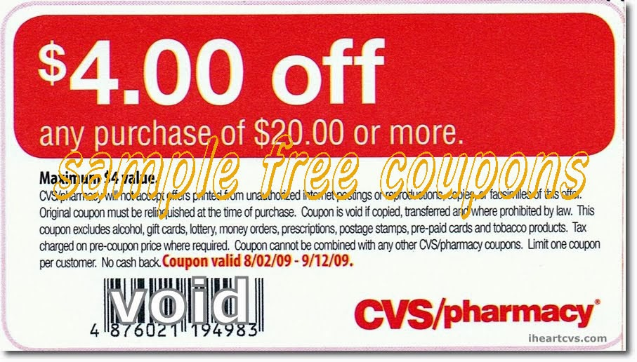 printable coupons  cvs pharmacy coupons