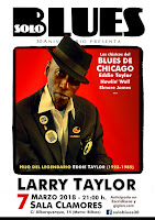 LARRY TAYLOR Chicago Blues