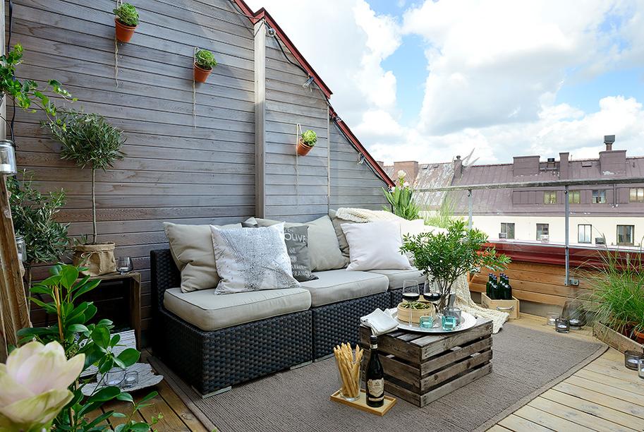 HOUSE OF SILVER: Svensk drømmelejlighed med altan