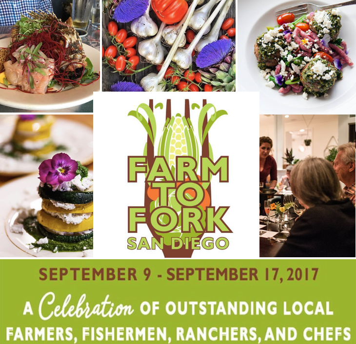 Don't miss San Diego Farm to Fork Week this September 9-17!