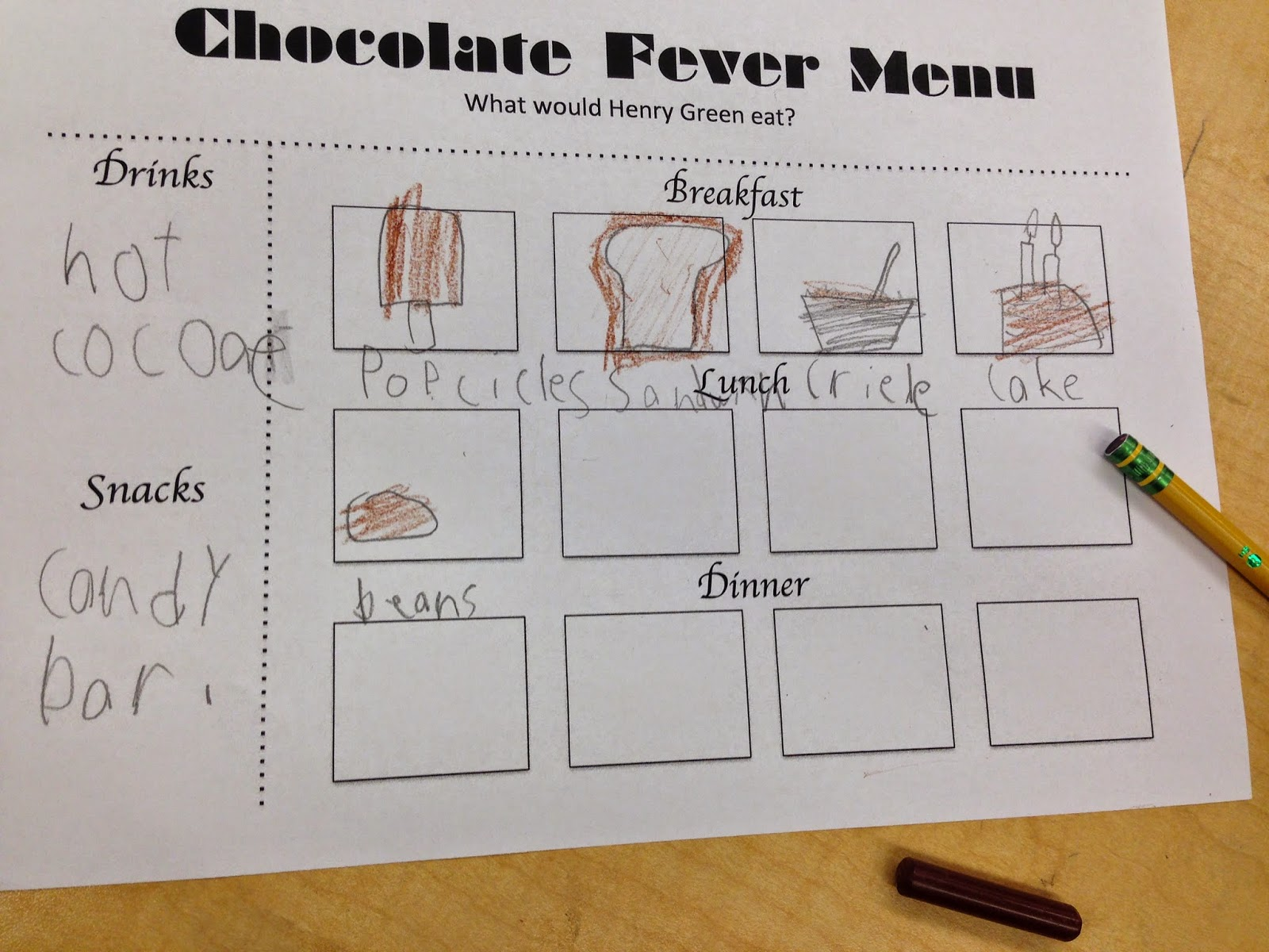 Confessions of a Tiny Teacher: chocolate fever