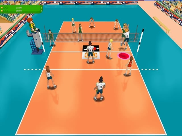 game voley